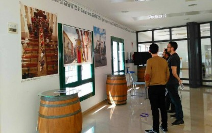 """Almagro: Los """"Armaos"""" de la Ruta de la Pasión Calatrava en la exposición fotográfica """"7 pueblos, dos miradas"""""""