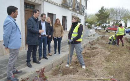 José Manuel Caballero presentó en Almagro el nuevo Plan de Empleo para 2016 de la Diputación Provincial