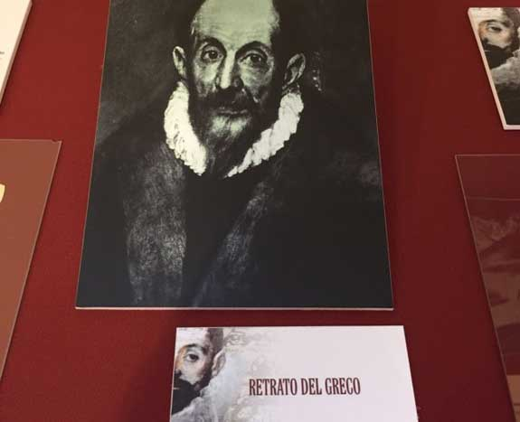 """Malagón Inaugurada la Exposición """"Los expedientes del Greco"""""""