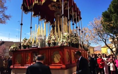 Malagón: La procesión con la Virgen de la Alegría y Jesús Resucitado cerró la Semana Santa