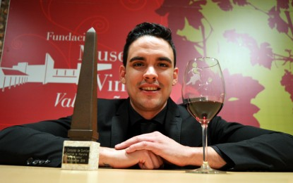 Valentín Checa repite como mejor Sumiller de Castilla-La Mancha
