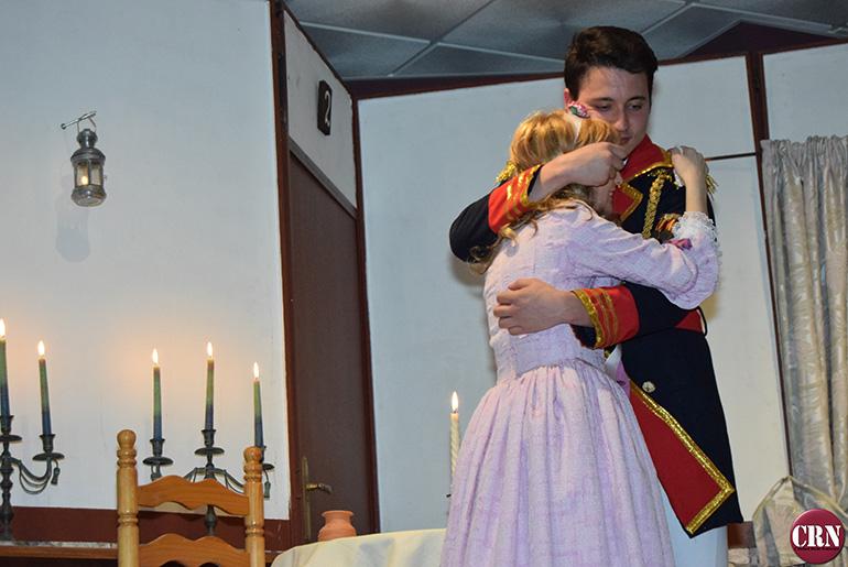 Luciana El público disfruto con la obra El sí de la niñas interpretada por Oretania Teatro-2