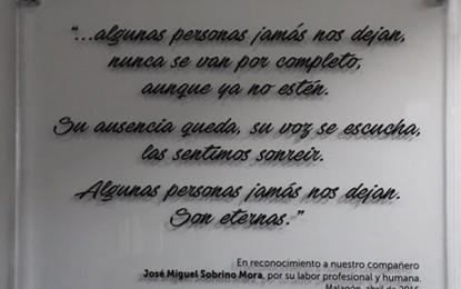 Malagón: Homenaje a la memoria de el Doctor D. José Miguel Sobrino