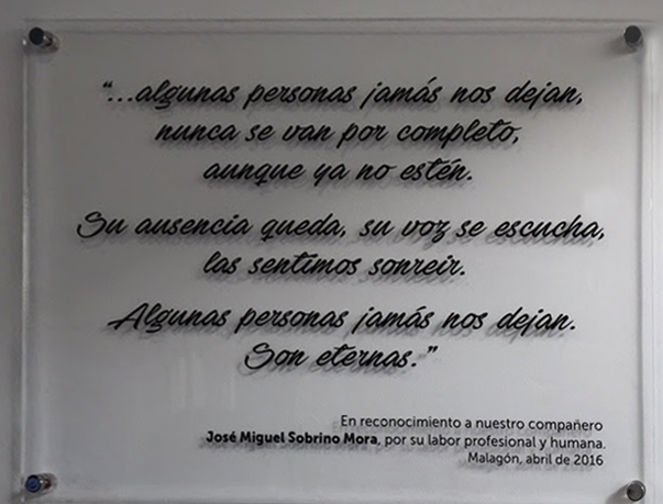 Malagón Homenaje a la memoria de el Doctor D. José Miguel Sobrino