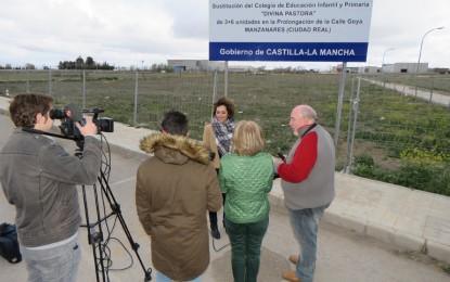 """Manzanares: Labián: """"Felizmente ha llegado la hora de construcción del colegio Divina Pastora"""""""