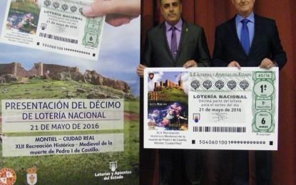 Montiel: Décimo del Sorteo de Lotería Nacional dedicado a la Recreación Histórico-Medieval