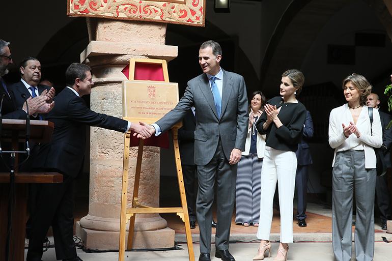 Villanueva de los Infantes Visita de SS.MM. los Reyes a Castilla-La Mancha coincidiendo a con el IV Centenario de la muerte de Miguel de Cervantes