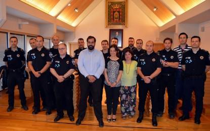 Ciudad Real: Pilar Zamora anima a los 12 policías locales que participarán en Huelva en los VI Juegos Europeos de Policías y Bomberos
