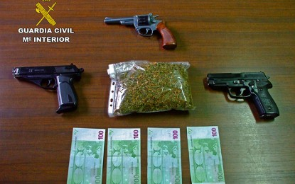 La Guardia Civil detiene a los atracadores de una sucursal bancaria y dos estaciones de servicio