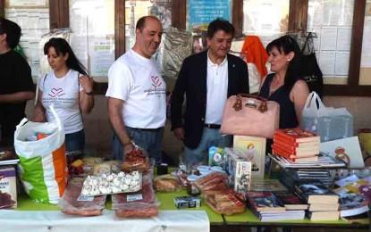 Daimiel: El mercadillo solidario de 'La Espinosa' logra la colaboración de 180 empresas