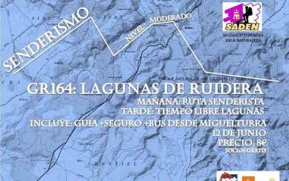 Miguelturra: La Concejalía de Deportes organiza una ruta de senderismo en Las Lagunas de Ruidera