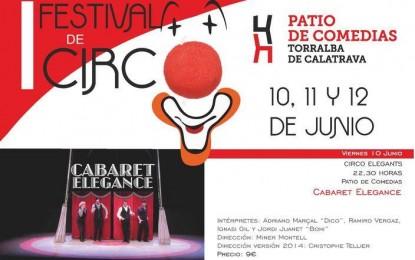 """Torralba de Calatrava: Fin de semana de humor en el """"I Festival Internacional de Circo"""" que se celebra en el Patio de Comedias"""