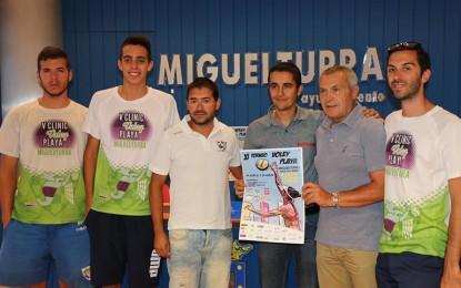 Miguelturra: Más de 3.000€ en premios en el XI Torneo Voley playa