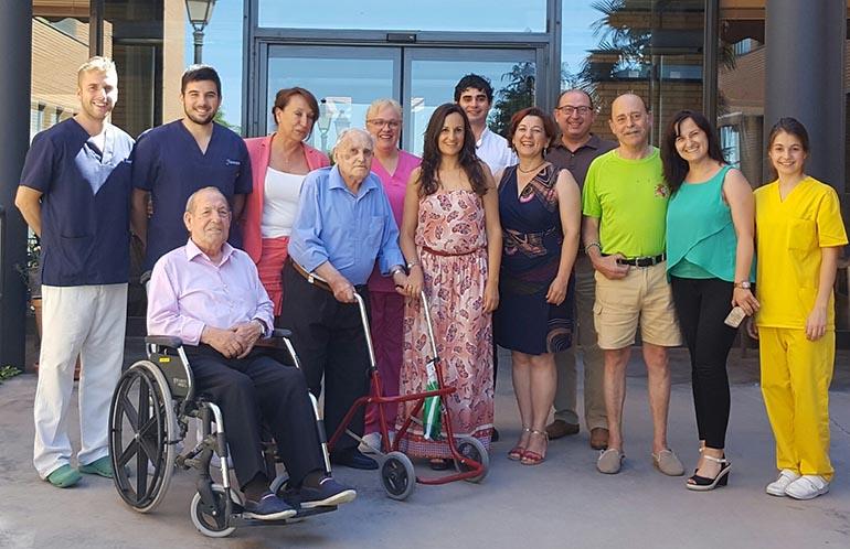 Prado Zuñiga en visita recursos asistenciales Herencia 1