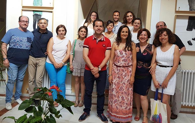 Prado Zuñiga en visita recursos asistenciales Herencia 2
