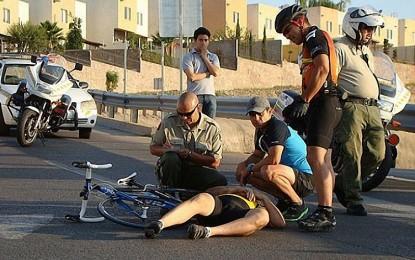 Peligro: Ciclistas en la carretera