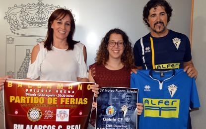 Ciudad Real: Fútbol y Balonmano para arrancar el programa  de las Ferias y Fiestas de Ciudad Real 2016