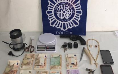 La Policía Nacional desmantela una importante plantación de marihuana en Alcázar de San Juan