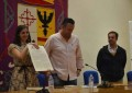 "Malagón: La ganadora del Premio Planeta, Espido Freire, presentó su libro sobre Santa Teresa ""Para Vos Nací"""