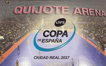 Ciudad Real celebrará la XXVIII edición de la Copa de España de Fútbol Sala