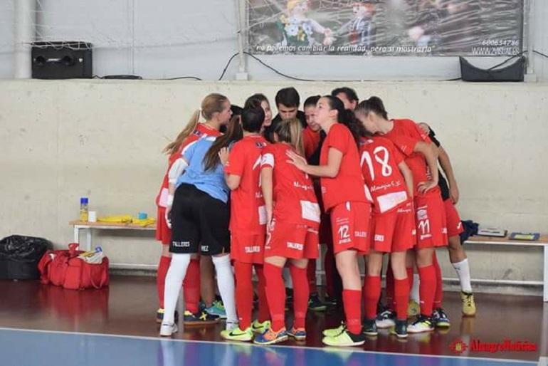 El Almagro FSF lidera en solitario la clasificación tras vencer al Futsal Alcantarilla