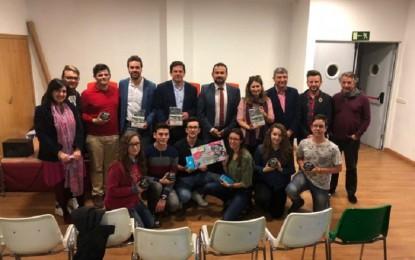 Bolaños: La Junta hizo entrega de los premios del concurso de spots para la promoción del Carné Joven Europeo