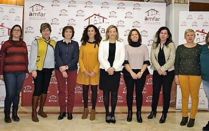 Lola Merino revalida la presidencia de AMAFAR Ciudad Real