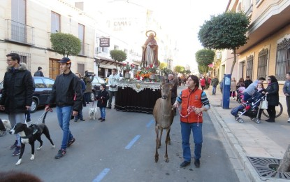 Manzanares celebró la festividad de San Antón