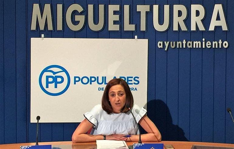 Miguelturra El PP miguelturreño denuncia que Victoria Sobrino ha convertido el Ayuntamiento en una administración morosa e incumplidora