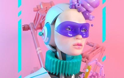 Valdepeñas: Diseño futurista para el cartel del Carnaval 2018