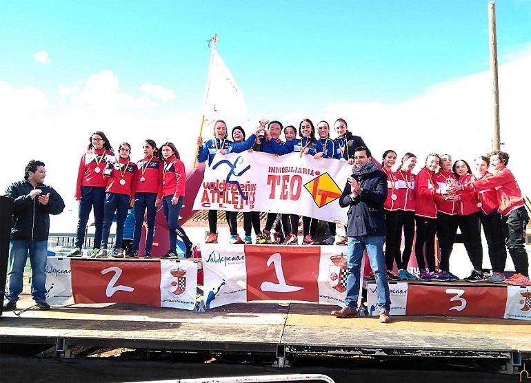 Valdepeñas acogió el campeonato provincial de campo a través con una participación de más de 600 corredores