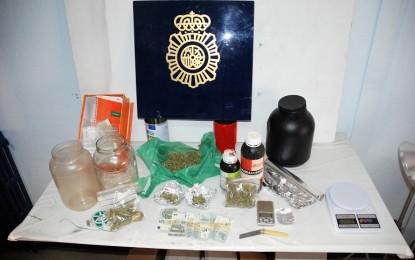 Alcazar de San Juan: La Policía Nacional desarticula un importante punto de venta de marihuana con la detención de dos personas