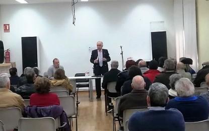 El PSOE provincial continúa su campaña de información sobre las pensiones