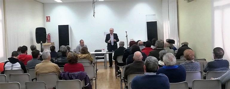Carrión de Calatrava El PSOE provincial continúa su campaña de información sobre las pensiones