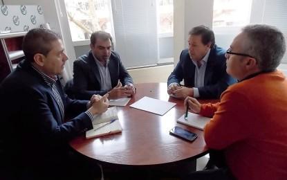 Ciudad Real: El PSOE se reune con el sindicato de funcionarios CSIF, para conocer de primera mano las reivindicaciones de los funcionares de la provincia