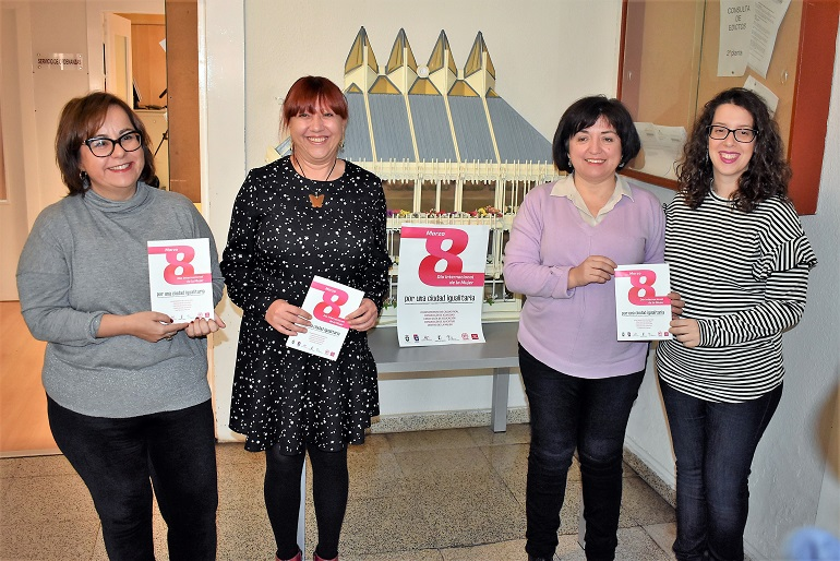 Ciudad Real preparada ya para el Día Internacional de la Mujer