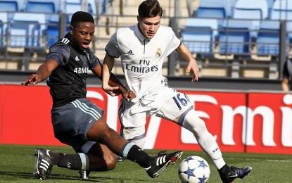 El Real Madrid blinda al bolañego Fran García hasta el 2022