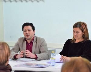 """Pozuelo de Calatrava: """"Pensiones dignas"""" es el lema que presentó ayer el PSOE para informar sobre la situación actual del sistema público de pensiones"""