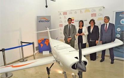 """Presentado en primer dron """"Made in Puertollano"""""""