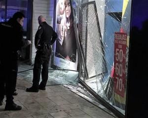 Valdepeñas: La policía tras la pista de los autores del alunizaje en una tienda de Springfield