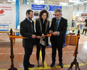 """Valdepeñas inaugura la """"15 Edición de la Feria del Stock"""""""