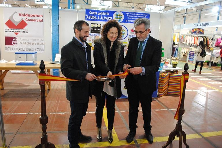 Valdepeñas inaugura la 15 Edición de la Feria del Stock