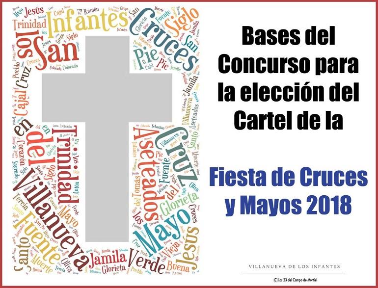 Villanueva de los Infantes Convocado el concurso del cartel de las Fiestas de Cruces y Mayo 2018