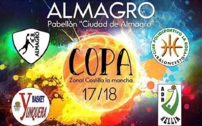 Almagro será este fin de semana la sede de celebración de la Copa Zonal de Castilla-La Mancha de Baloncesto