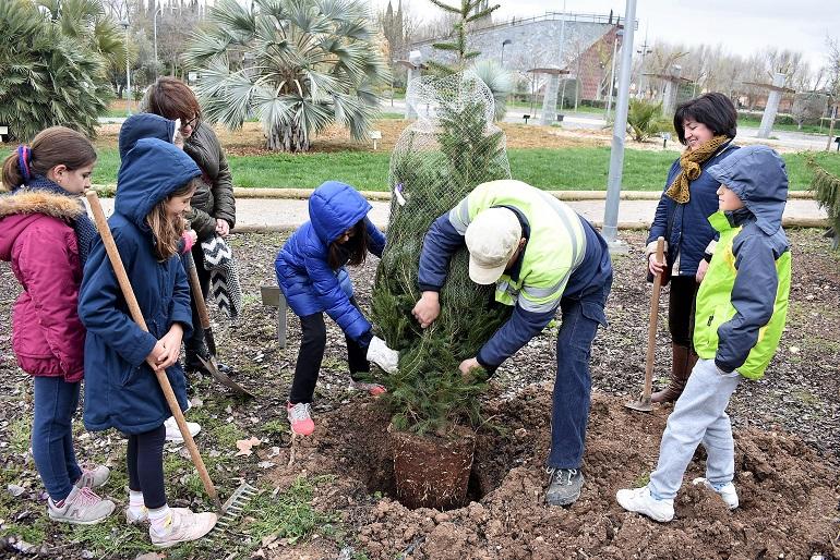 Ciudad Real celebra el Día del Árbol en el Parque del Pilar