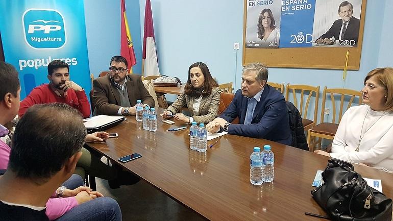 Miguelturra El PP no cree en las promesas del PSOE sobre el nuevo colegio