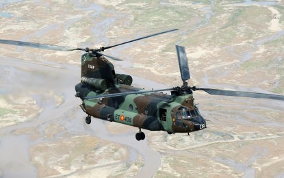 Almagro: El BHELA I acoge estos días al contingente que partirá hacia Iraq para integrarse en la coalición internacional
