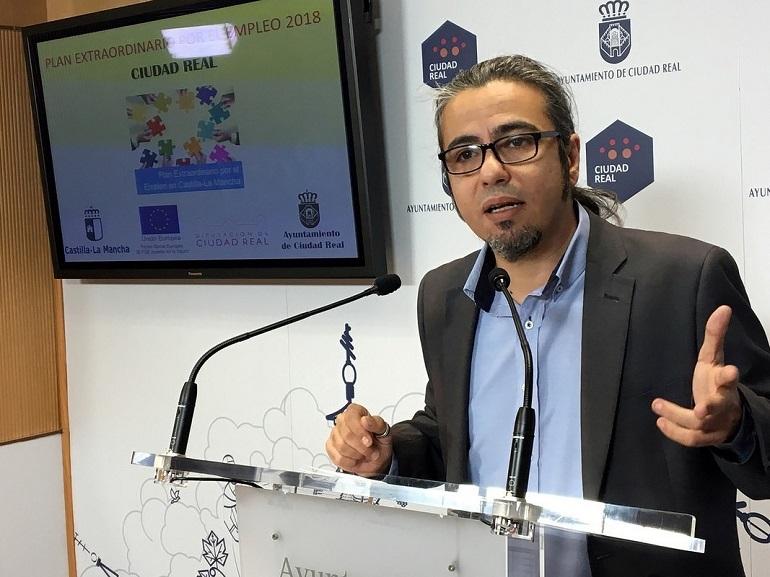 Ciudad Real Más de doscientas personas trabajarán en el Plan Extraordinario de Empleo