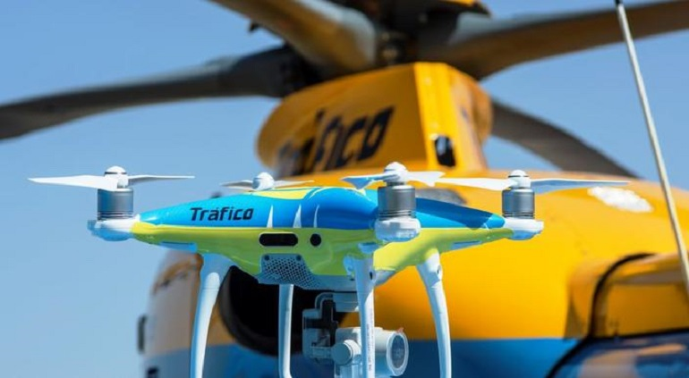 La DGT utilizará sus nuevos drones este puente de mayo para la vigilancia de las carreteras