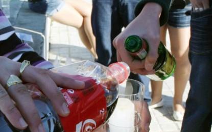 La nueva ley contra el consumo de alcohol multará a los padres de los menores que sean cogidos consumiendo alcohol